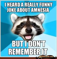 amnesia joke