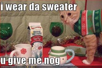 christmas cat_eggnog