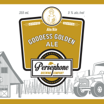 Persephone Goddess Golden Ale