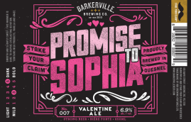 Barkerville Promise to Sophia