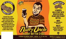 Dead Frog Nutty Uncle Peanut Butter Stout