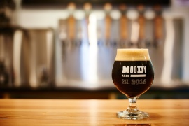 Moody Ales Hardy Brown Ale