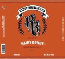 Ridge Hairy Donut Irish Amber Ale