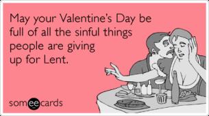Valentine's Day Lent