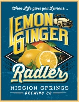 Mission Springs Lemon Ginger Radler