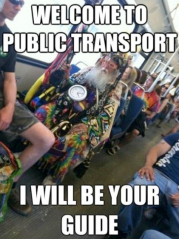 Public Transit  Weird People