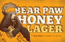 Whistler Bear Paw Honey Lager
