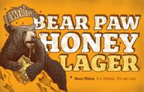Whistler Bear Paw Honey Lager
