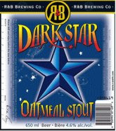R&B Dark Star Oatmeal Stout