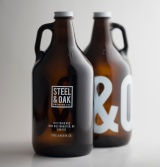 Steel & Oak Growlers