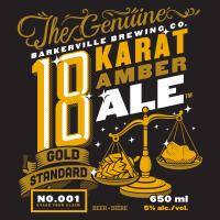 Barkerville 18 Karat Ale