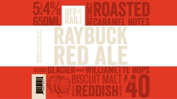 Off the Rail Raybuck Red Ale