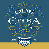 Powell Street Ode to Citra Pale Ale