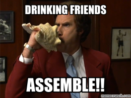 Drinking Friends Assemble