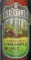 Whistler Cheakamus Chai Maple Ale