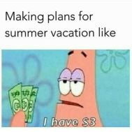 Summer Vacation Money