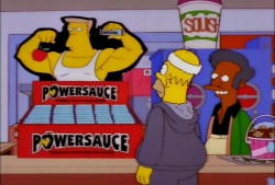 Homer Powersauce Bars
