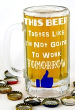 Beer Glass Not Going to Work