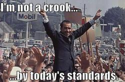 Nixon Not a Crook