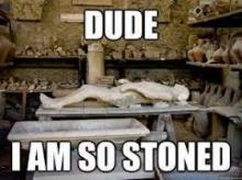 Pompeii Stoned