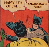 Canada Day-4th of July