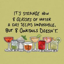 8 Cocktails