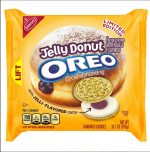 Oreo Jelly Donut Cookies