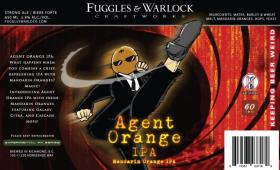 Fuggles & Warlock Agent Orange IPA