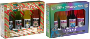 Jones Soda Holiday Packs