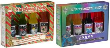 Jones Soda Holiday Packs