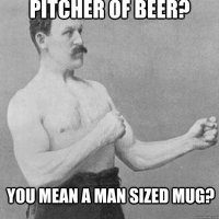 Man Sized Mug