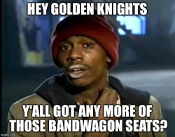 Golden Knights Bandwagon