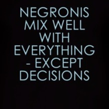 Negroni Decisions