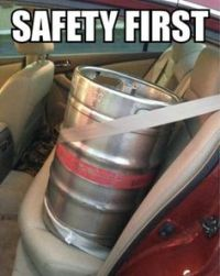 Keg Safety First