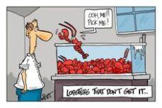 lobster pick me