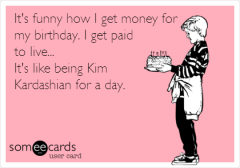 money for birthday