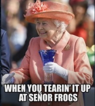 senor frogs queen