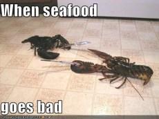 seafood bad