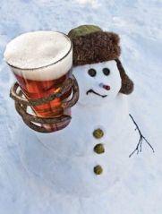 snowman beer