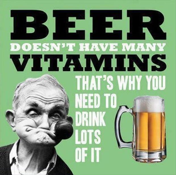 Beer Vitamins