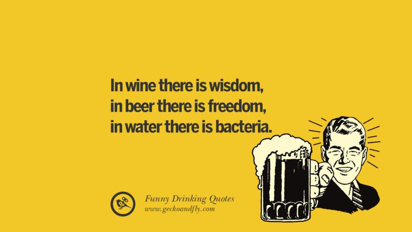 Beer Wine Water